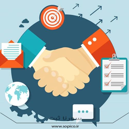 برندسازی و مشارکت در فروش - مجتمع سورنا ثبت