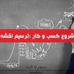 گام چهارم : ترسیم نقشه راه کسب و کار